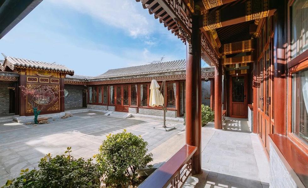 600㎡的北京四合院,方正大气,这设计精
